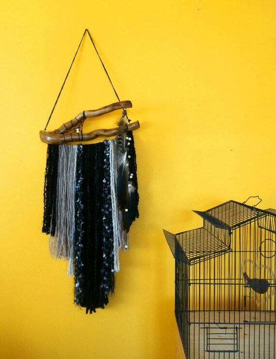 Boho wall decor dream catcher yarn wall hanging wall