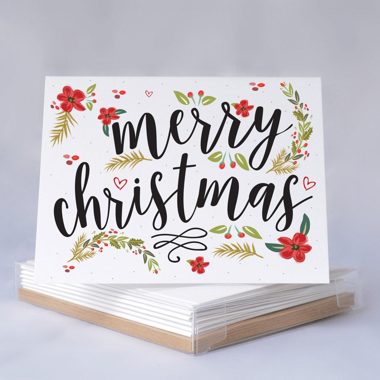 Holiday Card Boxed Set Funny Christmas Card Boxed Card Set