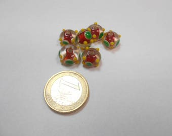 6 making Lampwork Glass Beads