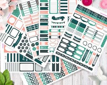 Mega set! Printable Planner Stickers, Happy planner stickers, Erin Condren stickers