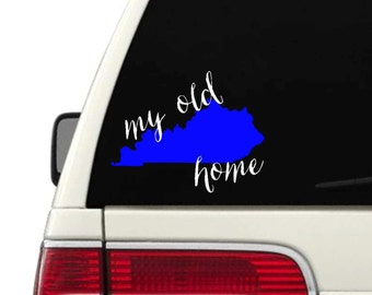 My Old Kentucky Home Decal