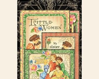 Now Shipping-Graphic 45 Little Women ephemera cards: 4501663