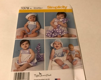 Simplicity baby sewing pattern, baby clothes, sewing pattern , simplicity sewing pattern , baby shower