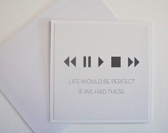Funny Card - Live would be perfect is we had these.
