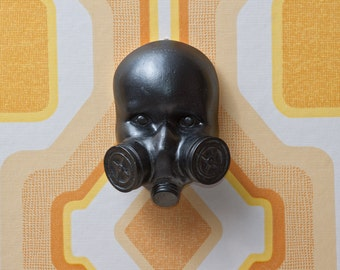 Gas Mask Doll Wall Art