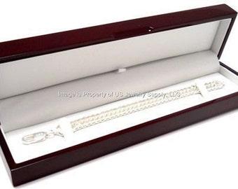 1 Rosewood Bracelet Jewelry Display Gift Box