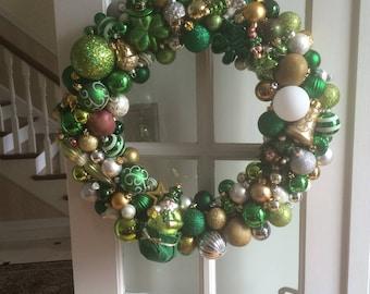 NEW PRODUCT!!! Beautiful handmade Irish ornament wreath