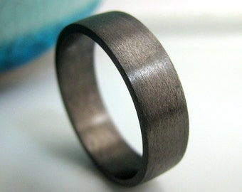 Black gold ring Etsy