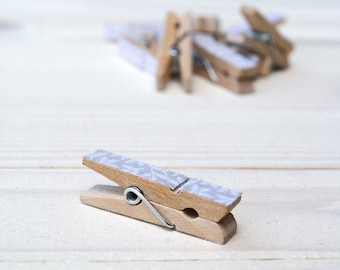 Wooden clothespins  - 3,5 x 0,6 cm 10pcs