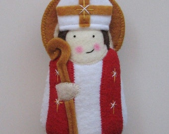 Saint William of York...Felt Softie
