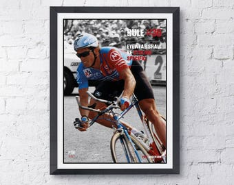 Cycling print motivational print Rule #36 A4 210mm x 297mm high quality digital print