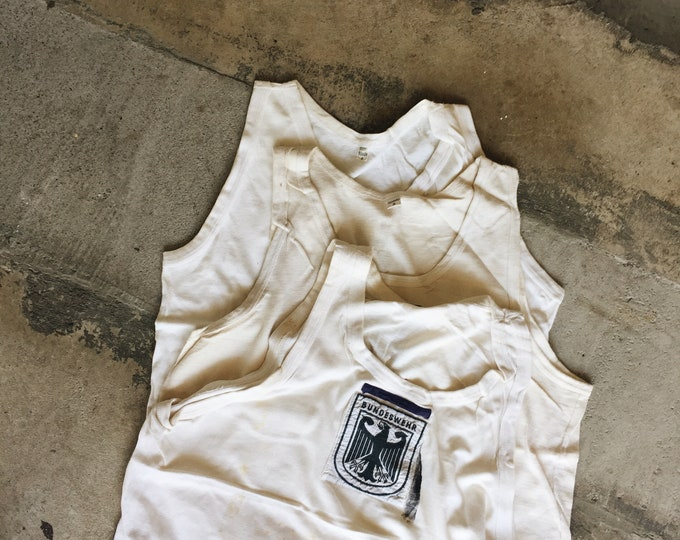 1960s 70s German Workwear Tank - presale