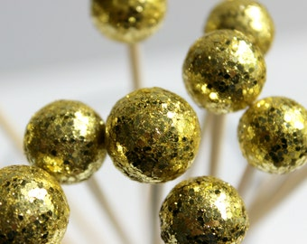 Gold Drink Stirrers, Drink Toppers, Weddings, Bridal Shower, Party Decor, Great Gatsby