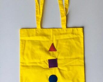 BAUHOUSE Tote - ( Yellow )