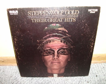Steppenwolf Gold Their Greatest Hits Vinyl Record Album NEAR MINT