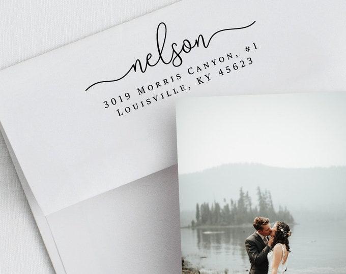 Featured listing image: Address Stamp, Self Ink Stamp, Return Stamp, Personalized Stamp, Wedding Invite Stamp, Custom Stamp, Rubber Stamp, Gift Stamp (415)