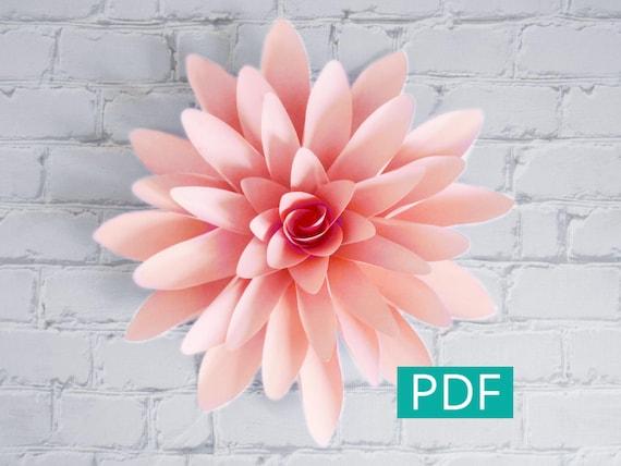 dahlia paper flower - Dorit.mercatodos.co