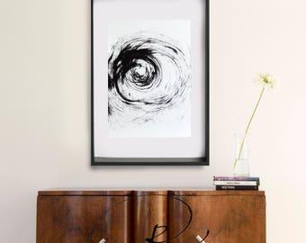 Original abstract ink art, large abstract art, abstract ink art, nature art, art, minimalist abstract, large wall art, abstract painting