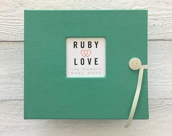 BABY BOOK | Solid Emerald Album