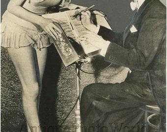 Walt Rosener band leader w performer antique photo