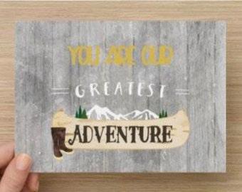 Greatest Adventure 5x7 Print