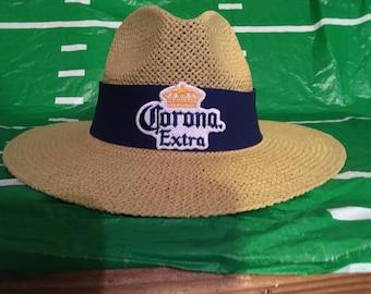 Corona Extra straw hat