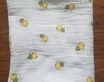 Swaddle Blanket, Newborn Swaddle Blanket, Newborn Swaddle Wrap, Muslin Blanket Swaddle, Baby Gift, Swaddle Wrap