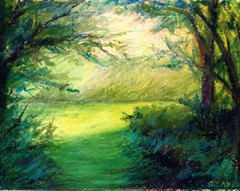 Glade - Oil Pastel