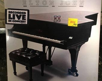 """Elton John - """"Here & There"""" - Rare Sealed Record LP Vinyl  - Free Shipping!"""