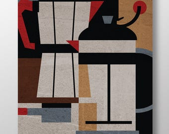 "Coffee Methods / Poster 18"" x 24"""