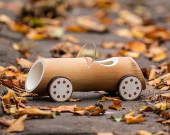 Bamboo toy cars - Sportster