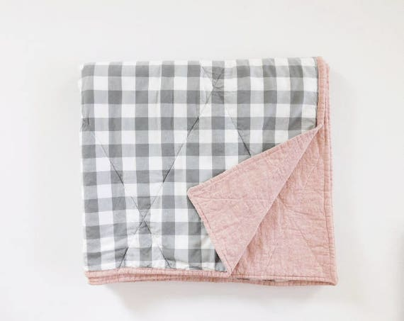 to a baby dsc would beginners be sew this quilt perfect gingham of and was for easy shades green