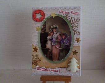 singers 3D greeting card