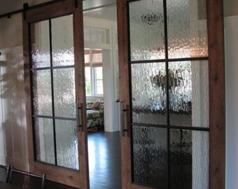 Rain Glass Door WITH HARDWARE