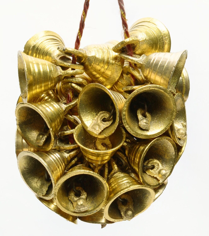 1Ht Lot 200 Pcs Brass Vintage Style Indian Bells Cow