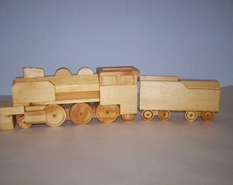 Modern Steam Locomotive & Tender