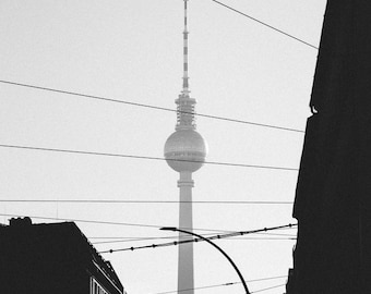 Berlin tower, Germany - Digital fine art photography print