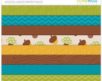 Woodlands Paper Pack
