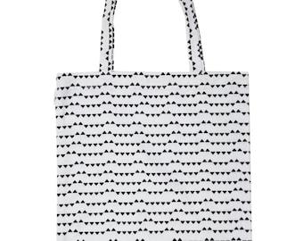Eco bag small triangles