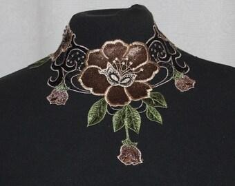 Final sale 2 colours velvet lace choker