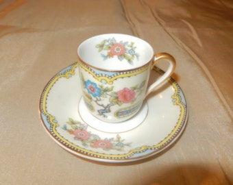 JAPAN DEMITASSE CUP and Saucer