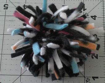 Double Ring Fleece Cat Toy #1