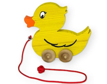 Wooden Duck Pull Toy