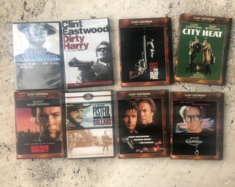 Lot of Clint Eastwood DVD's. 2 Never opened.