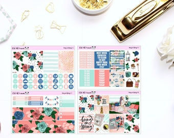 Bring on Spring MINI Kit // Planner Stickers