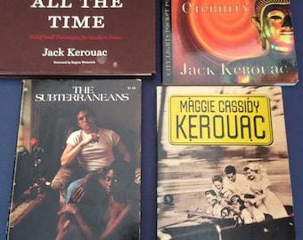 Lot of 4 JACK KEROUAC Maggie Cassidy/ SUBTERRANEANS / You're Genius ... / Scripture Of Golden Eternity (City Lights Pocket Poets Series)