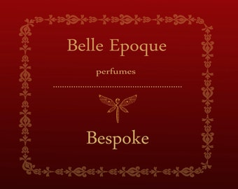 Bespoke natural eco perfume oil 1 oz (30ml). Unique perfume. Argan oil and natural essential oils and absolutes.