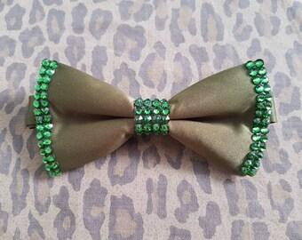 Swarovski Crystal Embellished Bow Tie