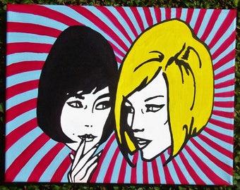 two mod girls