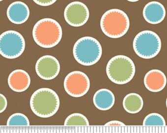 Mod Tod Brown Dots by Sherri Berry Designs for Riley Blake, 1/2 yard